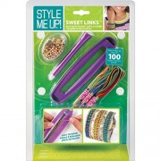 Style Me Up! Sweet Links Woven Bracelet Maker Kit-Purple