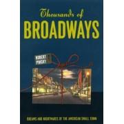 Thousands of Broadways by Robert Pinsky