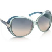 Diesel Over-sized Sunglasses(Brown, Blue)