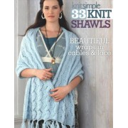 33 Knit Shawls by Editors of Sixth&Spring Books