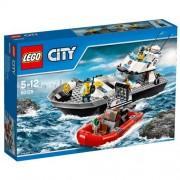 LEGO City - 60129 - Le Bateau De Patrouille De La Police