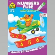 Math Readiness a Wipe-Off Book by School Zone Publishing