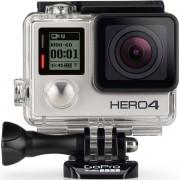 Camera Video de Actiune GoPro HERO 4 Silver Edition, Filmare Full HD, 12MP, Ecran tactil, Waterproof, Wi-Fi, Bluetooth