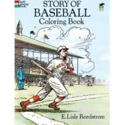 Story of Baseball Colouring Book by E. Lisle Reedstrom