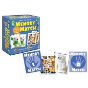 Key Education Photo First Games : Memory Match Educational Board Game