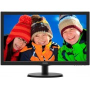 "Monitor LED Philips 21.5"" 223V5LSB, Full HD (1920 x 1080), VGA, DVI-D, 5ms (Negru) + Set curatare Serioux SRXA-CLN150CL, pentru ecrane LCD, 150 ml + Cartela SIM Orange PrePay, 5 euro credit, 8 GB internet 4G"