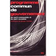 Programme Commun De Gouvernement Du Parti Communiste Et Du Parti Socialiste