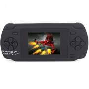 Mitashi Game In Smarty V1.0 Handheld Gaming Console With 300 In-Built Games (Black)