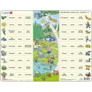 Tanuljunk angolul! 9 / Learning English Puzzle 9 angol nyelvű Lap puzzle