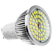 6W GU10 / E27 / E14 / gu5.3 / B22 LED-spot MR16 48SMD 610 lm warm wit / koel wit / natuurlijke witte ac 100-240 v
