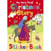 My Very First Christmas Story Sticker Book by Lois Rock