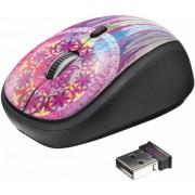 Mouse Wireless Trust Yvi Purple Dream (Multicolor)