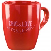 Taza Chic & Love Red