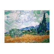 Van Gogh: Búzamező ciprusokkal - sérült csomagolású