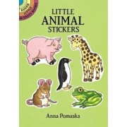 Little Animal Stickers by Anna Pomaska