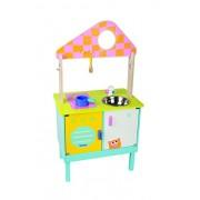 Boikido BKD80890057 - 3 in 1 Kitchen Cook & Play: Cucina, Drogheria e Casa Delle Bambole