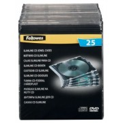 Boitier DVD Fellowes 98316 25 / Paquet