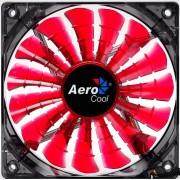 AeroCool Shark Ventola di Raffreddamento da 120 mm, Rosso