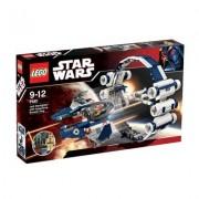 LEGO Star Wars 7661 Jedi fighter with Hyperdrive Booster Ring - Caza Jedi con Anillo espacial