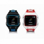 Garmin GPS-Multisportuhr Forerunner 920XT (HR) HR (inkl. Brustgurt) weiß-rot