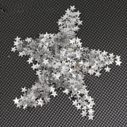 500pcs 6mm Star-shaped Rhinestones for Nail Art Craft Clear