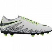 Nike Hypervenom Phade II FG, Botas de Fútbol Para Hombre, Plateado (Pure Platinum / Black-Ghost Green)
