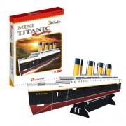 """CubicFun 3D Puzzle S-Serie """"Titanic (peque?o)"""""""