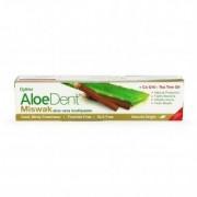Optima Aloe Dent Miswak aloe vera fogkrém koenzim Q10-el és teafa olajjal - 100ml
