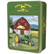 MasterPieces Puzzle Company John Deere My Two Best Friends Collectible Jigsaw Puzzle Tin (1000-Piece) by Masterpieces Puzzle Co.
