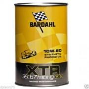 olio motore bardahl xtr c60 39.67 racing performance 10w60 1 litro nuovo lubrificanti auto