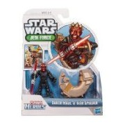 Playskool Heroes Star Wars Jedi Force 2-Pack - Darth Maul and Sith Speeder