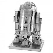 DIY modelo de rompecabezas 3D montado juguete educativo de metal - plata