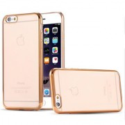 Soft Gold Plated Back Cover for Apple iPhone 4S