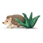 Schleich Four-Toed Hedgehog Toy Figure