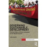 Governing Sustainable Development by Carl Death
