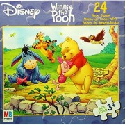 Disney Winnie the Pooh POOH's THOTFUL SPOT 24 Piece Puzzle MADE IN USA