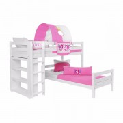 Dečiji krevet na sprat Emil Beli Princess