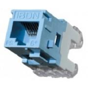 Belden Jack Modular Categoría 5e, RJ-45, Estilo MDVO, Azul