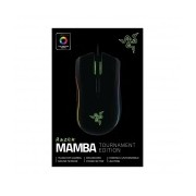Mouse Gamer Razer Láser Mamba Tournament Edition, Alámbrico, USB, 16000DPI, Negro