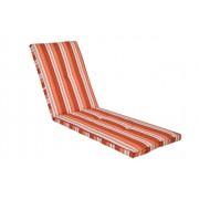 Kerti bútor párna napozóágyhoz, narancs