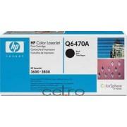 Toner HP Q6470A Negru LaserJet 3600 3800 series 6000 pag.