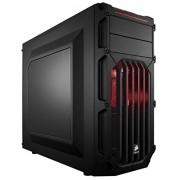 Corsair Carbide Series SPEC Aggressive-03-Mid-Tower con finestra Computer Gaming con ventola a LED rossa