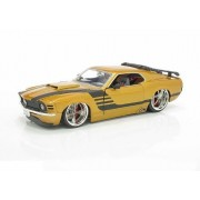 Jada 1970 Ford Mustang Boss 429 Gold, Numbered Limited Edition Of 7500
