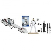 Star Wars BARC Speeder Vehicle with Clone Trooper Action Figure 4 Inches