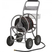 Strongway Garden Hose Reel Cart - Holds 400ft. x 5/8 Inch Hose