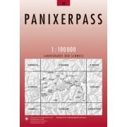 Fietskaart - Topografische kaart - Wegenkaart - landkaart 38 Panixerpass | Swisstopo
