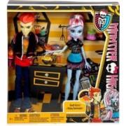Mattel Poupées Monster high duo Abbey et Heath