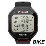 Ceas sport unisex Polar RCX5 BIKE negru