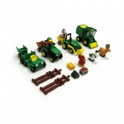 "John Deere Big Red Barn ""Fun on the Farm"" 4-Vehicle Playset - 34984"