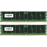 Kit Memorie Server Crucial ECC LRDIMM 2x32GB DDR4 2400MHz CL17 Quad Rank x4
